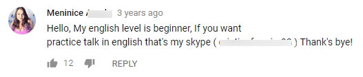 Skype-request-on-YouTube